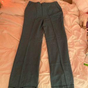 VINTAGE blue straight leg pants